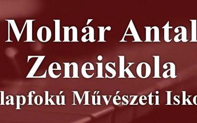 Beiratkozás és órabeosztás a Molnár Antal Zeneiskolában