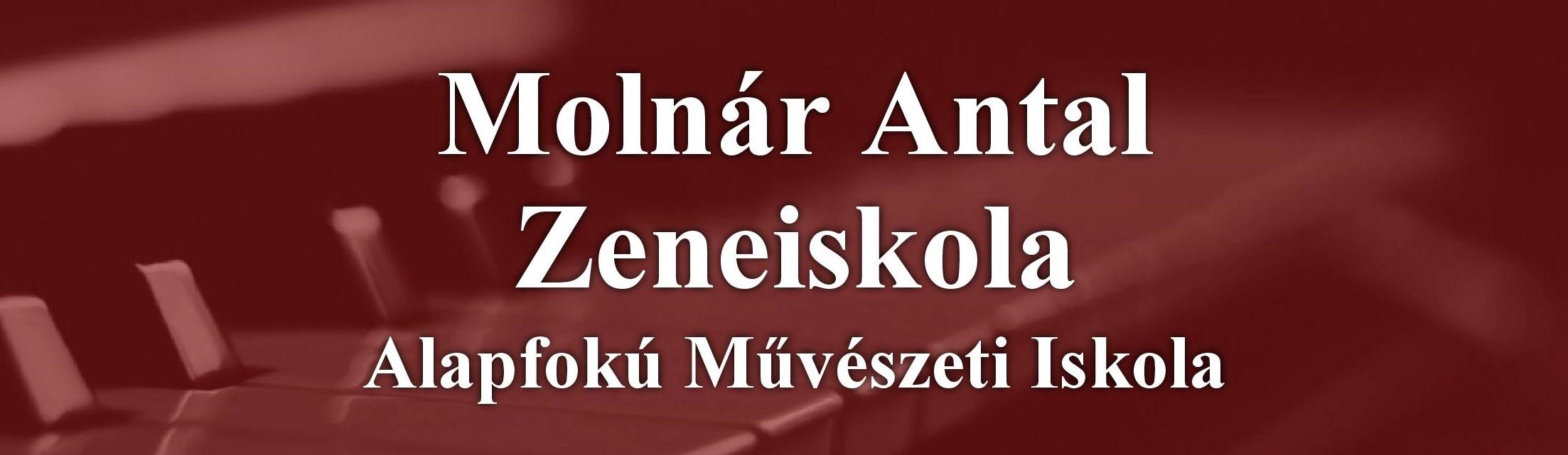 Tájékoztatás a Molnár Antal Zeneiskola további működéséről