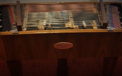 Új cimbalom a Molnár Antal Zeneiskolában