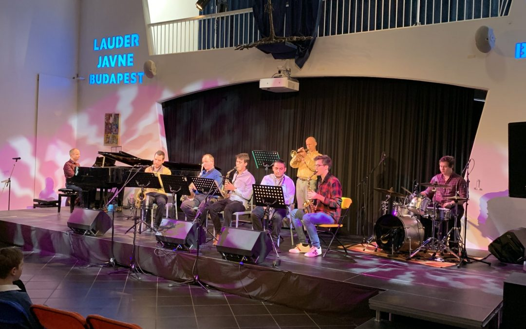 Molnár Antal Zeneiskola Big bandje lépett fel a XIII. Lauder Művészeti Fesztivál